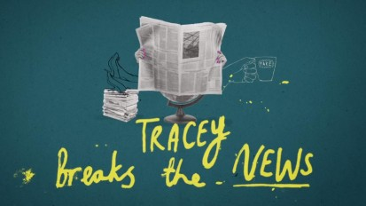 Tracey Breaks the News